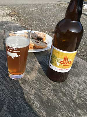 Casse croute bières artisanales Vallée du Giffre