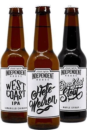 Coffret de bières artisanales Independent House