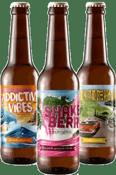 Coffret de bières artisanales Piggy Brewing Company