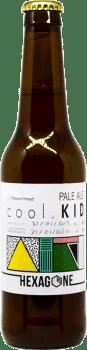Bouteille de bière Cool Kid brasserie Hexagone Ales