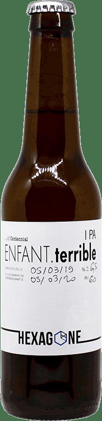 Bouteille de bière Enfant Terrible brasserie Hexagone Ales