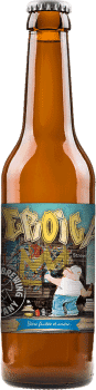 Bouteille de bière Eroica IPA Brasserie Piggy Brewing Company