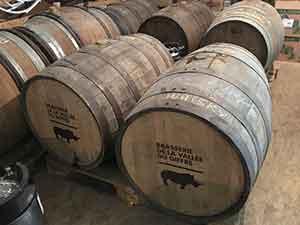 Fûts de bières artisanales Brasserie du Gifrre