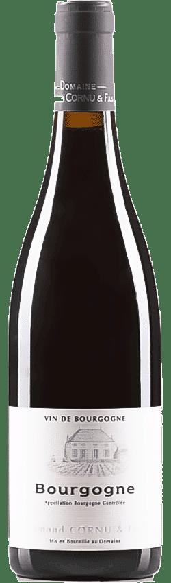 Bouteille de vin Bourgogne Rouge du Domaine Cornu