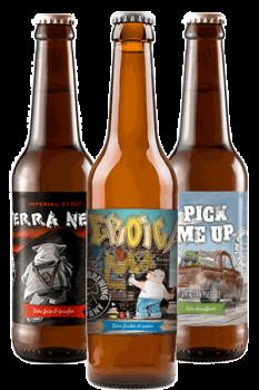 Coffret de bouteilles de bières artisanales Piggy Brewing Company