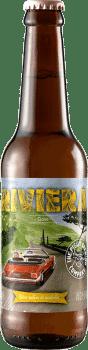 Bouteille de bière Riviera Brasserie Piggy Brewing Company