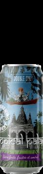 Canette de bière Tropicl Palace Double IPA Brasserie Piggy Brewing Company