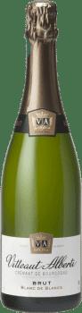 Bouteille de Blanc de Blancs Crémant de Bourgogne Vitteaut Alberti