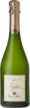 Bouteille de la cuvée Agnès Crémant de Bourgogne Vitteaut Alberti