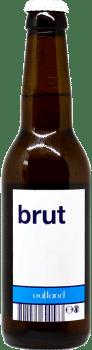 Bouteille de bière artisanale IPA Brut Brasserie Outland