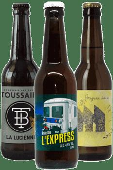 Coffret de bières artisanales d'Ile de France