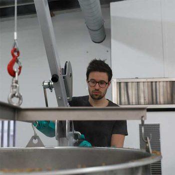 Clément de la brasserie Toussaint