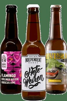 Coffret de bières artisanales Bières et Huîtres