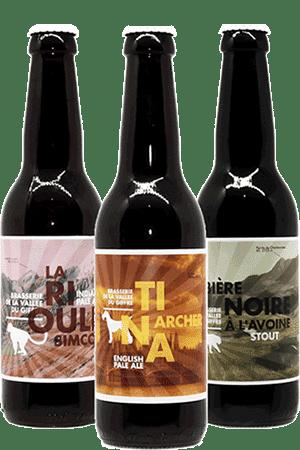 Coffret de bières artisanales Vallée du Giffre