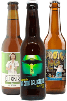 Coffret de bières artisanales IPA