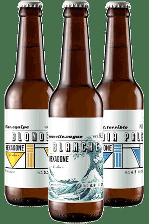 Coffret de bières artisanales Hexagone Ales