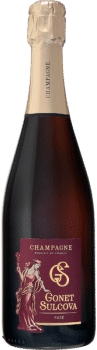 Bouteille de Champagne Rosé Gonet Sulcova
