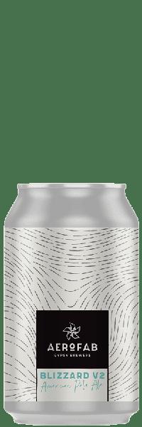 Canette de bière blizzard brasserie aerofab