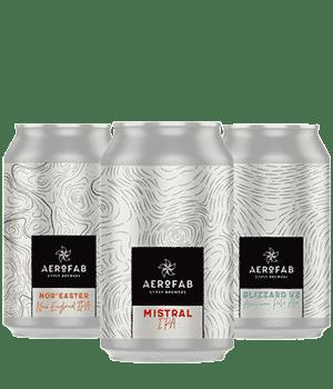 Coffret de bières artisanales Aerofab