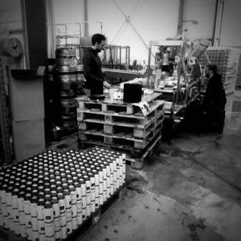 Encanage de bières aerofab a la brasserie Melusine