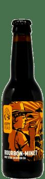 BOUTEILLE Bourbon Minet BRASSERIE HOPPY ROAD