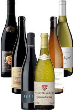 Coffret Vins de la Vallée du Rhône