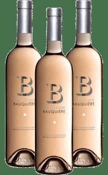 Bouteilles de rosé B by La Grande Bauquière