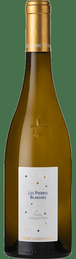 Bouteille de la cuvée Les Pierres Blanches du Domaine Pierre Luneau-Papin