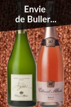 Bouteilles de vin de la Sélection Spécial Fête des Mères Envie de buller