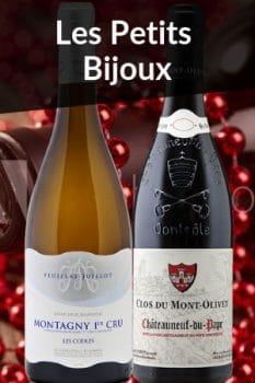 Bouteilles de vin de la Sélection Spécial Fête des Mères Petits Bijoux