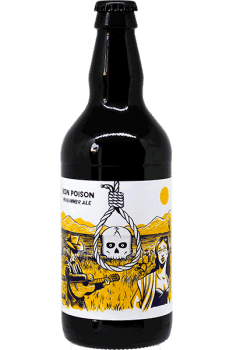 Bouteille de bière Mid Summer Bon Poison