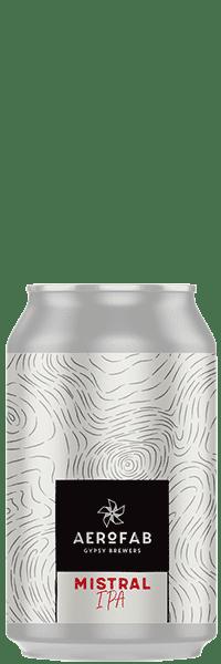 Canette de bière mistral brasserie aerofab