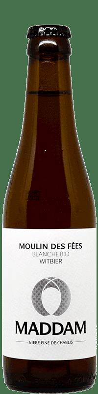 Bouteille de bière Moulin des fées Brasserie Maddam