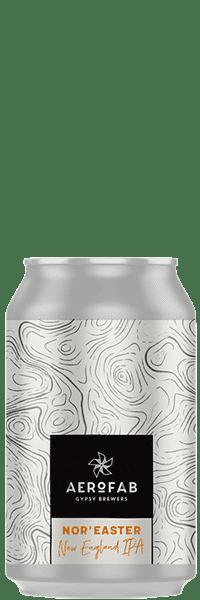 Canette de bière noreaster brasserie aerofab