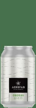 Canette de bière oroshi brasserie aerofab