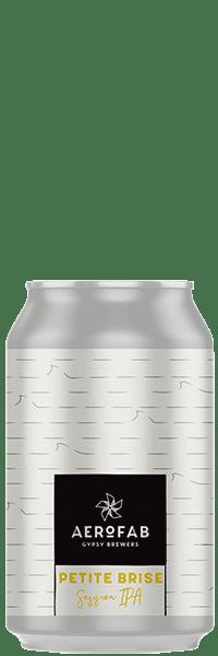 Canette de bière petite brise brasserie aerofab