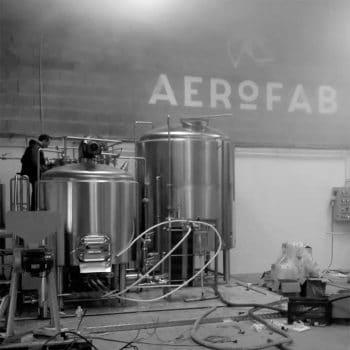 Brassage à la brasserie Aerofab