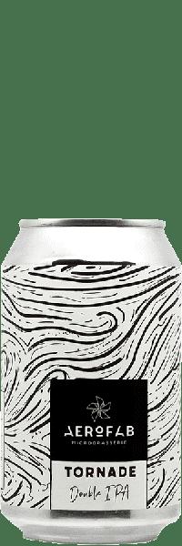 Canette de bière tornade brasserie aerofab