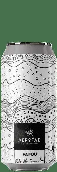 Canette de bière Farou Pale Ale Concombre brasserie aerofab