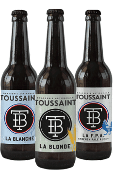 Coffret de bières artisanales Toussaint