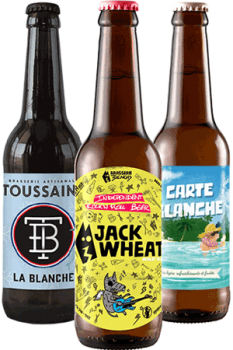 Coffret Cool Beer Blanches Brasseries artisanales françaises