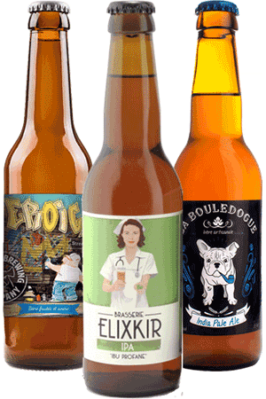 Coffret Cool Beer IPA Brasseries artisanales françaises