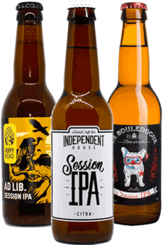 Coffret Session IPA Cool Beer Brasseries artisanales françaises