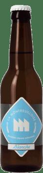 Bouteille de bière Blanche Brasserie La Montreuilloise
