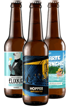 Coffret Cool Beer bières Blanches Brasseries artisanales françaises