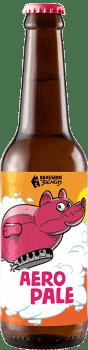 Bouteille de bière artisanale Aero Pale Brasserie 3ienchs