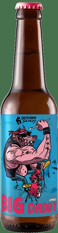 Bouteille de bière artisanale Big Daddy Brasserie 3ienchs