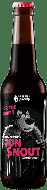 Bouteille de bière artisanale Jon Snout Brasserie 3ienchs