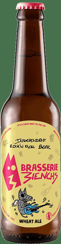 Bouteille de bière artisanale Wheat Ale Brasserie 3ienchs
