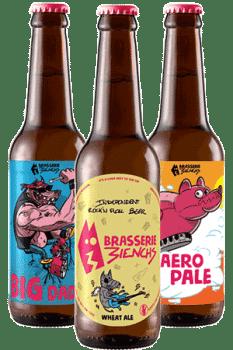 Coffret Bouteille de bière artisanale Brasserie 3ienchs